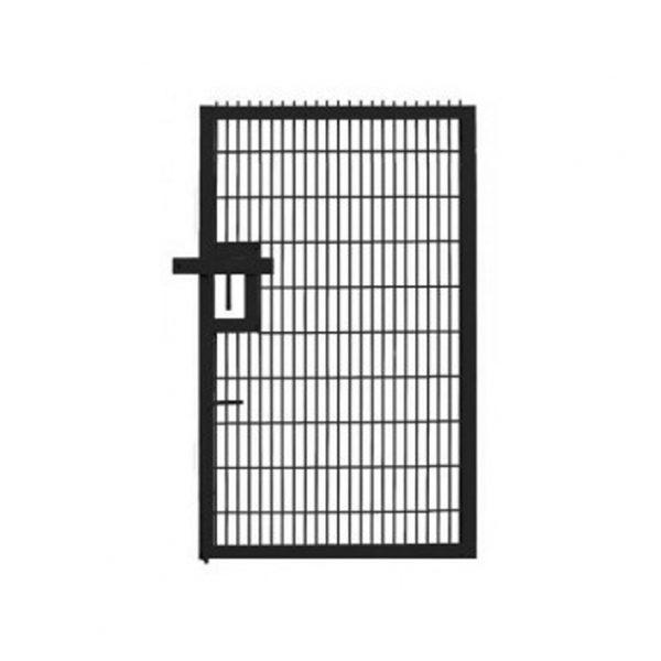 Prison mesh pedestrian gate height adfabs